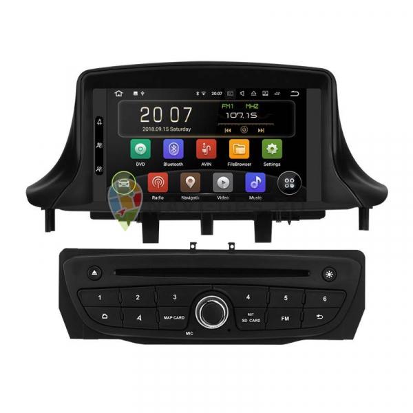 Navigatie Renault Megane 3 Fluence ( 2009 -2015 ) , Android 10 , 2GB RAM + 16GB ROM , Internet , 4G , Aplicatii , Waze , Wi Fi , Usb , Bluetooth [0]