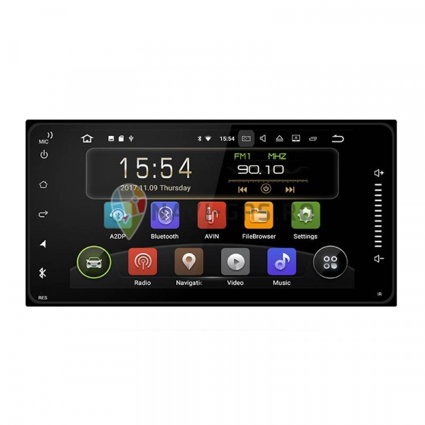 Navigatie Toyota Corolla Yaris Hilux Subaru Forester Impreza , Android 9.0,  2 GB RAM + 16 GB ROM , Internet , 4G , Aplicatii , Waze , Wi Fi , Usb , Bluetooth , Mirrorlink 0