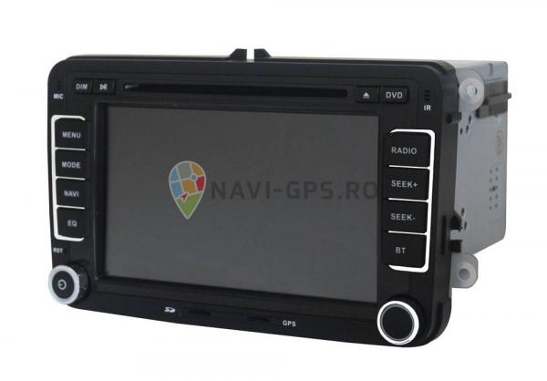 Navigatie Gps VW Golf 5 6 Passat B6 B7 CC Tiguan Touaran Jetta Eos Polo Amarok Caddy , Windows 6.0 , Dvd Player , Usb , Bluetooth , Card 8GB Europa full 1