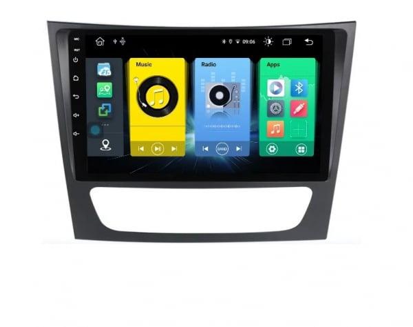 Navigatie Mercedes E Class W211 , CLS W219 , Android , Display 9 inch , 2GB RAM + 32GB ROM , Internet , 4G , Youtube , Waze , Wi Fi , Usb , Bluetooth , Mirrorlink 5