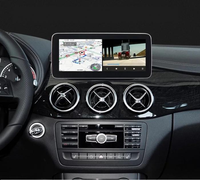 "Navigatie Mercedes GLK X204 ( 2013 - 2015) , Android , NTG 4.5 , 4 GB RAM + 64 GB ROM , Slot Sim 4G LTE , Display 10.25 "" rez 1920*720 , Procesor Octa Core , Internet , Aplicatii , Waze , Wi Fi , Usb [1]"