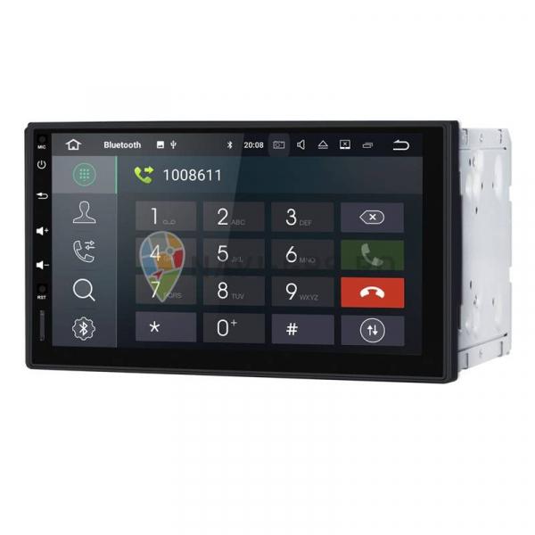 Navigatie Gps Universala 2DIN Android 9.0 , 2GB RAM + 16GB ROM , Internet , 4G , Aplicatii , Waze , Wi Fi , Usb , Bluetooth , Mirrorlink 1