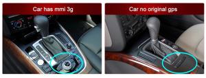 """Navigatie Audi Q5 ( 2009 - 2016) ,  Audi MMI 3G , Android , 4GB RAM +64 GB ROM , Slot Sim 4G LTE , Display 10.25 """" rez 1920*720 , Procesor Octa Core , Internet3"""