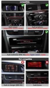 "Navigatie Audi Q5 ( 2009 - 2016) ,  Audi Concert / Symphony , Android , 4GB RAM +64 GB ROM , Slot Sim 4G LTE , Display 10.25 "" rez 1920*720 , Procesor Octa Core , Internet6"