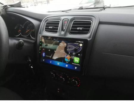 Navigatie Dacia Logan 2 Sandero ( 2012 - 2019 ) , Android , Display 9 inch , 2 GB RAM si 32 GB ROM , Internet , 4G , Aplicatii , Waze , Wi Fi , Usb , Bluetooth , Mirrorlink [1]