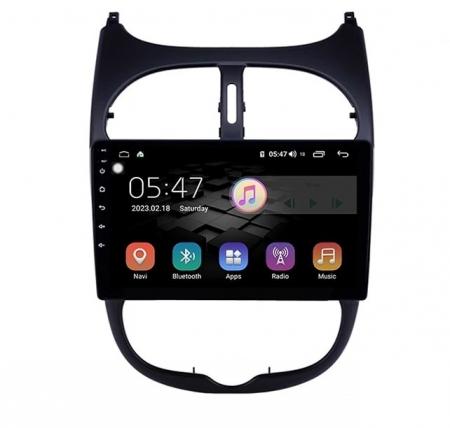 Navigatie Peugeot 206 , Android , Display 9 inch , 2GB RAM +32 GB ROM , Internet , 4G , Aplicatii , Waze , Wi Fi , Usb , Bluetooth , Mirrorlink0