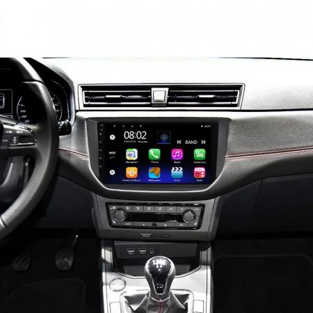 Navigatie Seat Ibiza ( 2017 + ) , 4 GB RAM + 64 GB ROM , Slot Sim 4G pentru Internet , Carplay , Android , Aplicatii , Usb , Wi Fi , Bluetooth [1]