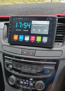Navigatie Peugeot 508 ( 2010 - 2018 ) , Android , Display 9 inch , 2GB RAM +32 GB ROM , Internet , 4G , Aplicatii , Waze , Wi Fi , Usb , Bluetooth , Mirrorlink2