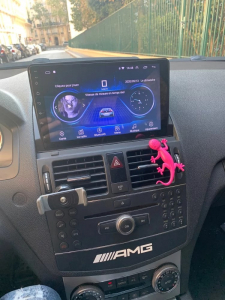 Navigatie Mercedes C Class W204 ( 2006 - 2012 ) , Android , Display 9 inch , 2GB RAM +32 GB ROM , Internet , 4G , Aplicatii , Waze , Wi Fi , Usb , Bluetooth , Mirrorlink3