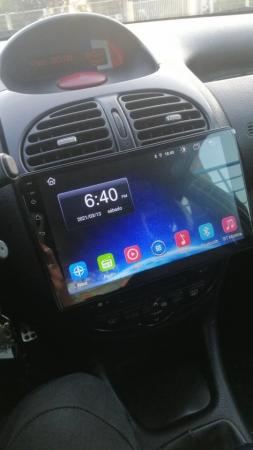 Navigatie Peugeot 206 , Android , Display 9 inch , 2GB RAM +32 GB ROM , Internet , 4G , Aplicatii , Waze , Wi Fi , Usb , Bluetooth , Mirrorlink2