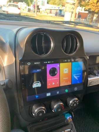 Navigatie Jeep Compass ( 2010 - 2016 ) , Android , Display 9 inch , 2GB RAM +32 GB ROM , Internet , 4G , Aplicatii , Waze , Wi Fi , Usb , Bluetooth , Mirrorlink4