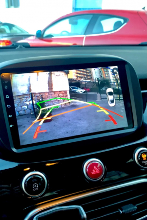Navigatie Fiat 500X ( 2014 - 2019 ) , Android , Display 9 inch , 2GB RAM +32 GB ROM , Internet , 4G , Aplicatii , Waze , Wi Fi , Usb , Bluetooth , Mirrorlink4