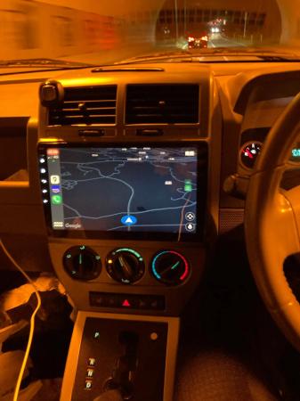 Navigatie Jeep Compass ( 2006 - 2010 ) , Android , Display 9 inch , 2GB RAM +32 GB ROM , Internet , 4G , Aplicatii , Waze , Wi Fi , Usb , Bluetooth , Mirrorlink3