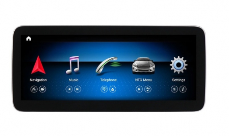 Navigatie Mercedes A Class W176 ( 2013 - 2018 ) , 8 GB RAM + 64 GB ROM , Slot Sim 4G LTE , Android , Procesor Octa Core , Internet , Aplicatii , Waze , Wi Fi , Usb , Bluetooth0