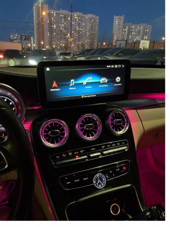 "Navigatie Mercedes C Class W205 ( 2015 - 2018 ) , 4 GB RAM + 64 GB ROM , Slot Sim 4G , Android , Display 10.25 "" rezolutie 1920*720 , Internet , Wi Fi , Usb , Bluetooth [1]"