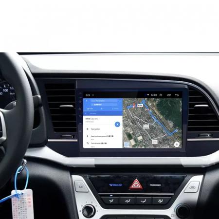 Navigatie Hyundai Elantra ( 2015 - 2019 ) , Android , Display 9 inch , 2 GB RAM si 32 GB ROM , Internet , 4G , Aplicatii , Waze , Wi Fi , Usb , Bluetooth , Mirrorlink [4]