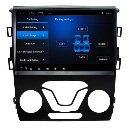 Navigatie Ford Mondeo ( 2013 + ) , 4 GB RAM + 64 GB ROM , Slot Sim 4G pentru Internet , Carplay , Android , Aplicatii , Usb , Wi Fi , Bluetooth [3]