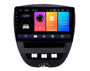 Navigatie Peugeot 107 ( 2005 - 2015 ) , Android , Display 10 inch , 2GB RAM +32 GB ROM , Internet , 4G , Aplicatii , Waze , Wi Fi , Usb , Bluetooth , Mirrorlink2