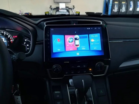 Navigatie Honda CR-V ( 2016 - 2019 ) , Android , Display 9 inch , 2GB RAM +32 GB ROM , Internet , 4G , Aplicatii , Waze , Wi Fi , Usb , Bluetooth , Mirrorlink2