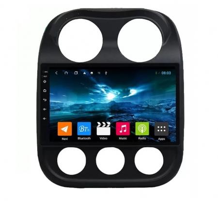 Navigatie Jeep Compass ( 2010 - 2016 ) , Android , Display 9 inch , 2GB RAM +32 GB ROM , Internet , 4G , Aplicatii , Waze , Wi Fi , Usb , Bluetooth , Mirrorlink0