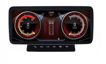 """Navigatie Audi A6 ( 2005 - 2011 ) MMI , 4 GB RAM si 64 GB ROM , Slot Sim 4G , Android , Display 10.25 """" , Internet , Wi Fi , Usb , Bluetooth [0]"""