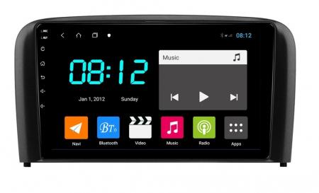 Navigatie Volvo S80 ( 1998 - 2006 ) , Android , Display 9 inch , 2 GB RAM + 32 GB ROM , Internet , 4G , Aplicatii , Waze , Wi Fi , Usb , Bluetooth , Mirrorlink [0]
