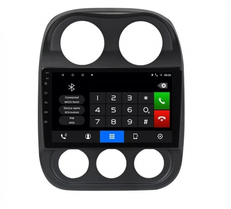 Navigatie Jeep Compass ( 2010 - 2016 ) , Android , Display 9 inch , 2GB RAM +32 GB ROM , Internet , 4G , Aplicatii , Waze , Wi Fi , Usb , Bluetooth , Mirrorlink5