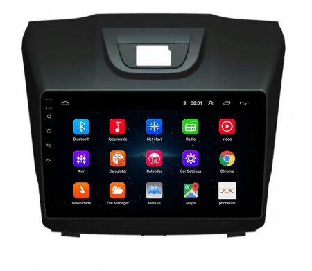 Navigatie Isuzu D Max ( 2015 - 2019 ) , Android , Display 9 inch , 2 GB RAM +32 GB ROM , Internet , 4G , Aplicatii , Waze , Wi Fi , Usb , Bluetooth , Mirrorlink [3]
