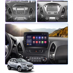 Navigatie Hyundai ix 35 Tucson ( 2009 - 2015 ) , Android , Display 9 inch , 2GB RAM +32 GB ROM , Internet , 4G , Aplicatii , Waze , Wi Fi , Usb , Bluetooth , Mirrorlink3