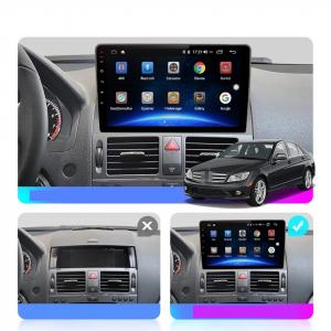 Navigatie Mercedes C Class W204 ( 2006 - 2012 ) , Android , Display 9 inch , 2GB RAM +32 GB ROM , Internet , 4G , Aplicatii , Waze , Wi Fi , Usb , Bluetooth , Mirrorlink6