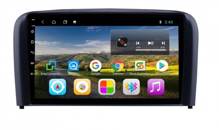 Navigatie Volvo S80 ( 1998 - 2006 ) , Android , Display 9 inch , 2 GB RAM + 32 GB ROM , Internet , 4G , Aplicatii , Waze , Wi Fi , Usb , Bluetooth , Mirrorlink [2]