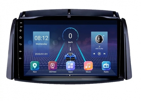 Navigatie Renault Koleos ( 2008 - 2016 ) , Android , Display 9 inch , 2GB RAM +32 GB ROM , Internet , 4G , Aplicatii , Waze , Wi Fi , Usb , Bluetooth , Mirrorlink [0]