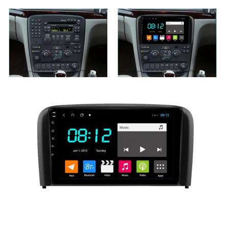 Navigatie Volvo S80 ( 1998 - 2006 ) , Android , Display 9 inch , 2 GB RAM + 32 GB ROM , Internet , 4G , Aplicatii , Waze , Wi Fi , Usb , Bluetooth , Mirrorlink [4]