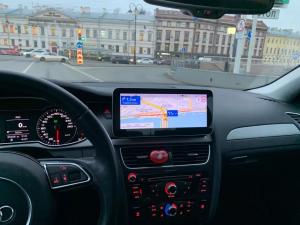 """Navigatie Audi A4 A5 B8 ( 2009 - 2016) ,  Audi MMI 3G , Android , 4GB RAM +64 GB ROM , Slot Sim 4G LTE , Display 10.25 """" rez 1920*720 , Procesor Octa Core , Internet7"""