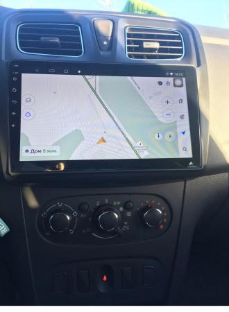 Navigatie Dacia Logan 2 Sandero ( 2012 - 2019 ) , Android , Display 9 inch , 2 GB RAM si 32 GB ROM , Internet , 4G , Aplicatii , Waze , Wi Fi , Usb , Bluetooth , Mirrorlink [2]