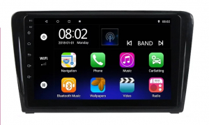 Navigatie Skoda Rapid ( 2013 - 2018 ) , Android , Display 9 inch , 2GB RAM +32 GB ROM , Internet , 4G , Aplicatii , Waze , Wi Fi , Usb , Bluetooth , Mirrorlink4