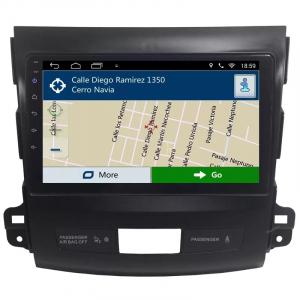 Navigatie Mitsubishi Outlander ( 2006 - 2014 ) , Android , Display 9 inch , 2GB RAM +32 GB ROM , Internet , 4G , Aplicatii , Waze , Wi Fi , Usb , Bluetooth , Mirrorlink3