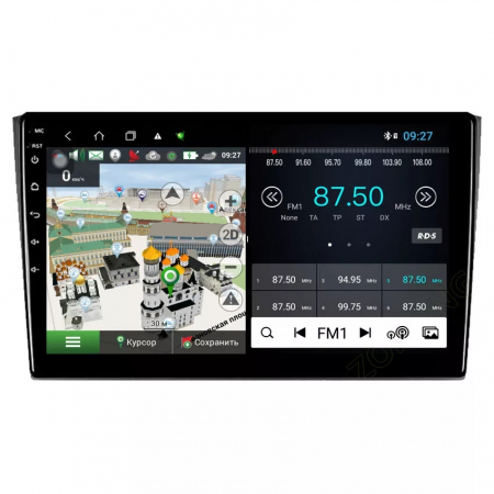 Navigatie Mazda CX 9 ( 2006 - 2016 ) , Android , Display 9 inch , 2GB RAM +32 GB ROM , Internet , 4G , Aplicatii , Waze , Wi Fi , Usb , Bluetooth , Mirrorlink [4]