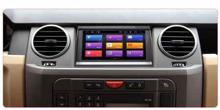 Navigatie Land Rover Discovery 3 ( 2004 - 2009 ) , Android , 2GB RAM si 32 GB ROM , Internet , 4G , Aplicatii , Waze , Wi Fi , Usb , Bluetooth , Mirrorlink [1]