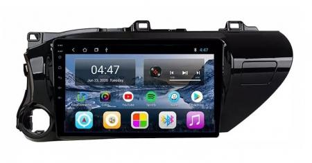 Navigatie Toyota Hilux ( 2015 - 2020 ) , Android , Display 9 inch , 2GB RAM +32 GB ROM , Internet , 4G , Aplicatii , Waze , Wi Fi , Usb , Bluetooth , Mirrorlink1