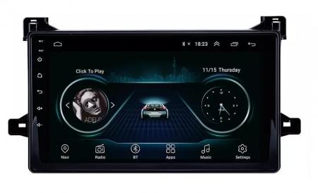 Navigatie Toyota Prius ( 2015 + ) , Android , Display 9 inch , 2GB RAM +32 GB ROM , Internet , 4G , Aplicatii , Waze , Wi Fi , Usb , Bluetooth , Mirrorlink4