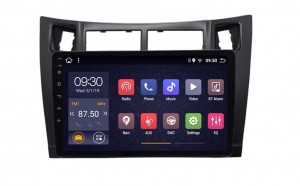Navigatie Toyota Yaris ( 2005 - 2012 ) , Android , Display 9 inch , 2GB RAM +32 GB ROM , Internet , 4G , Aplicatii , Waze , Wi Fi , Usb , Bluetooth , Mirrorlink3
