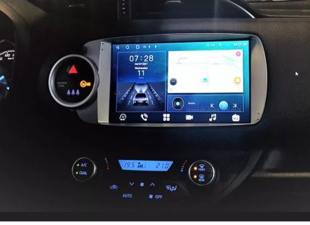 Navigatie Toyota Yaris ( 2010 - 2018 ) , Android , Display 9 inch , 2GB RAM +32 GB ROM , Internet , 4G , Aplicatii , Waze , Wi Fi , Usb , Bluetooth , Mirrorlink [1]