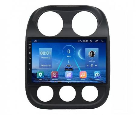 Navigatie Jeep Compass ( 2010 - 2016 ) , Android , Display 9 inch , 2GB RAM +32 GB ROM , Internet , 4G , Aplicatii , Waze , Wi Fi , Usb , Bluetooth , Mirrorlink1