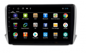 Navigatie Peugeot 208 / 2008 ( 2012 - 2020 ) , Android , Display 10 inch , 2GB RAM +32 GB ROM , Internet , 4G , Aplicatii , Waze , Wi Fi , Usb , Bluetooth , Mirrorlink6