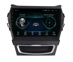 Navigatie Hyundai Santa Fe ix 45 ( 2012 - 2017 ) , Android , Display 9 inch , 2GB RAM +32 GB ROM , Internet , 4G , Aplicatii , Waze , Wi Fi , Usb , Bluetooth , Mirrorlink5