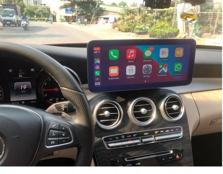 "Navigatie Mercedes C Class W205 ( 2015 - 2018 ) , 4 GB RAM + 64 GB ROM , Slot Sim 4G , Android , Display 10.25 "" rezolutie 1920*720 , Internet , Wi Fi , Usb , Bluetooth [3]"