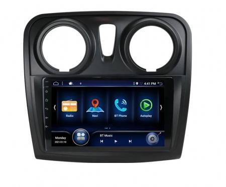 Navigatie Dacia Logan 2 Sandero ( 2012 - 2019 ) , Android , Display 9 inch , 2 GB RAM si 32 GB ROM , Internet , 4G , Aplicatii , Waze , Wi Fi , Usb , Bluetooth , Mirrorlink [0]