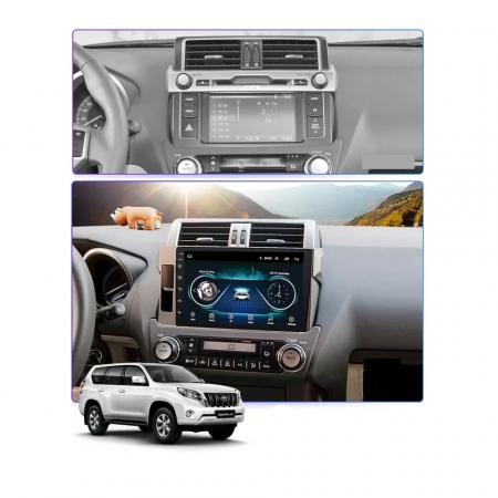 Navigatie Toyota Land Cruiser ( 2014 - 2017 ) , Android , Display 9 inch , 2GB RAM +32 GB ROM , Internet , 4G , Aplicatii , Waze , Wi Fi , Usb , Bluetooth , Mirrorlink1
