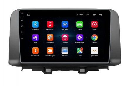 Navigatie Hyundai Kona ( 2018 + ) , Android , Display 9 inch , 2 GB RAM si 32 GB ROM , Internet , 4G , Aplicatii , Waze , Wi Fi , Usb , Bluetooth , Mirrorlink [4]